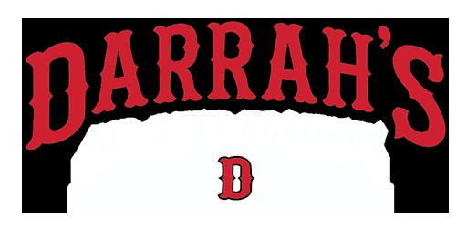 Logo Darrah's White – Smaller